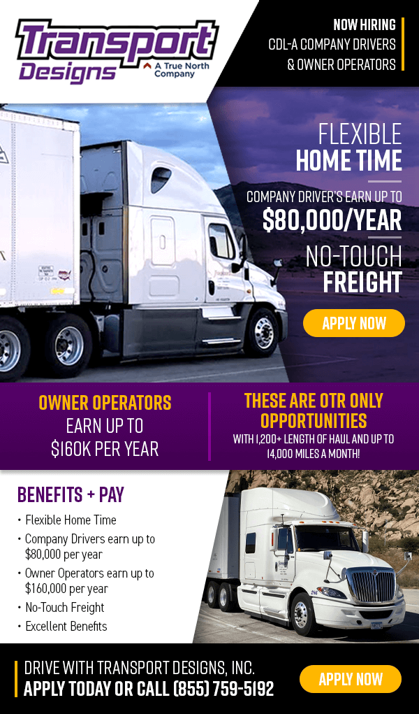 Truck Driver - Excellent Pay - No Touch Freight - Flexible ...